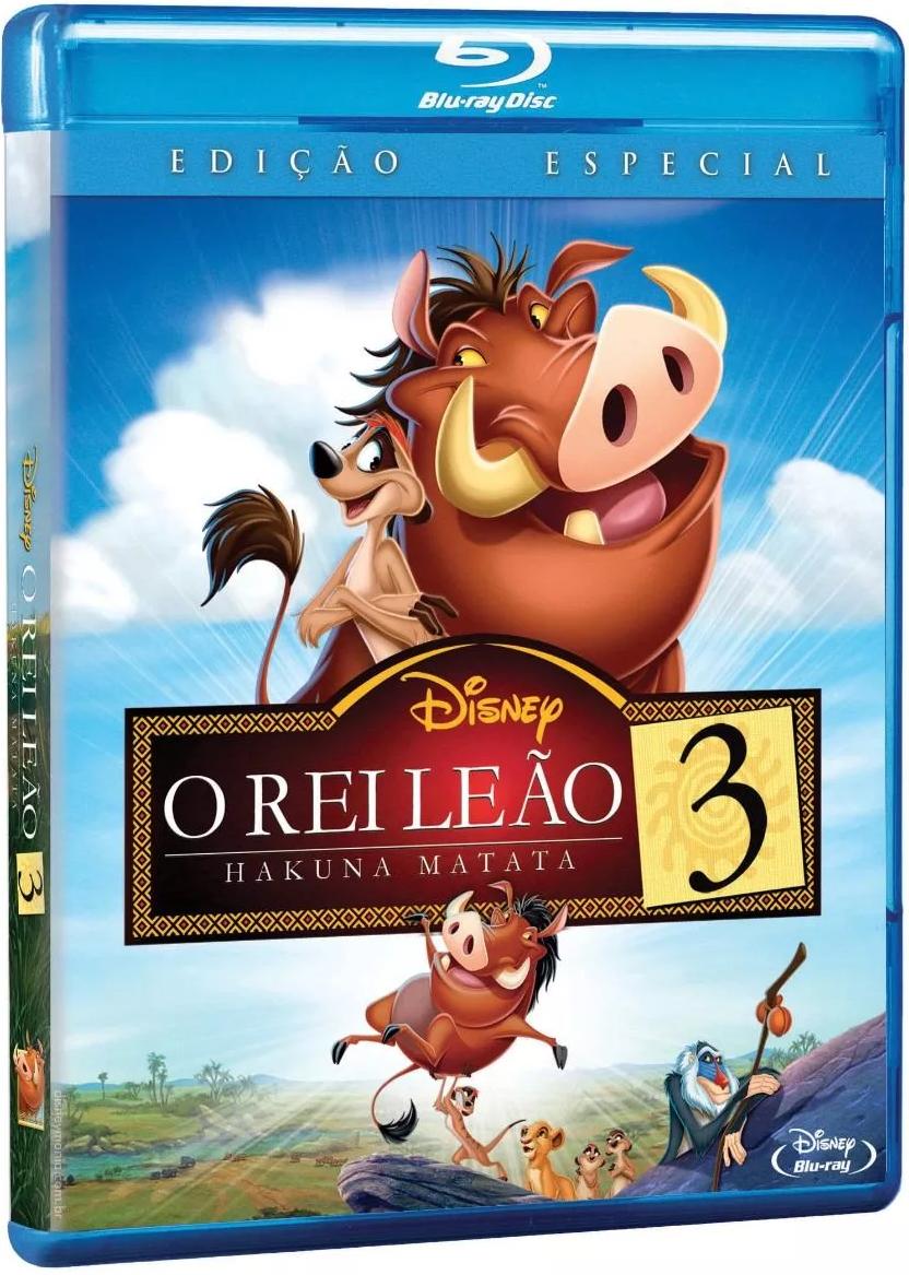 Blu Ray O Rei Leao 3 Edicao Especial