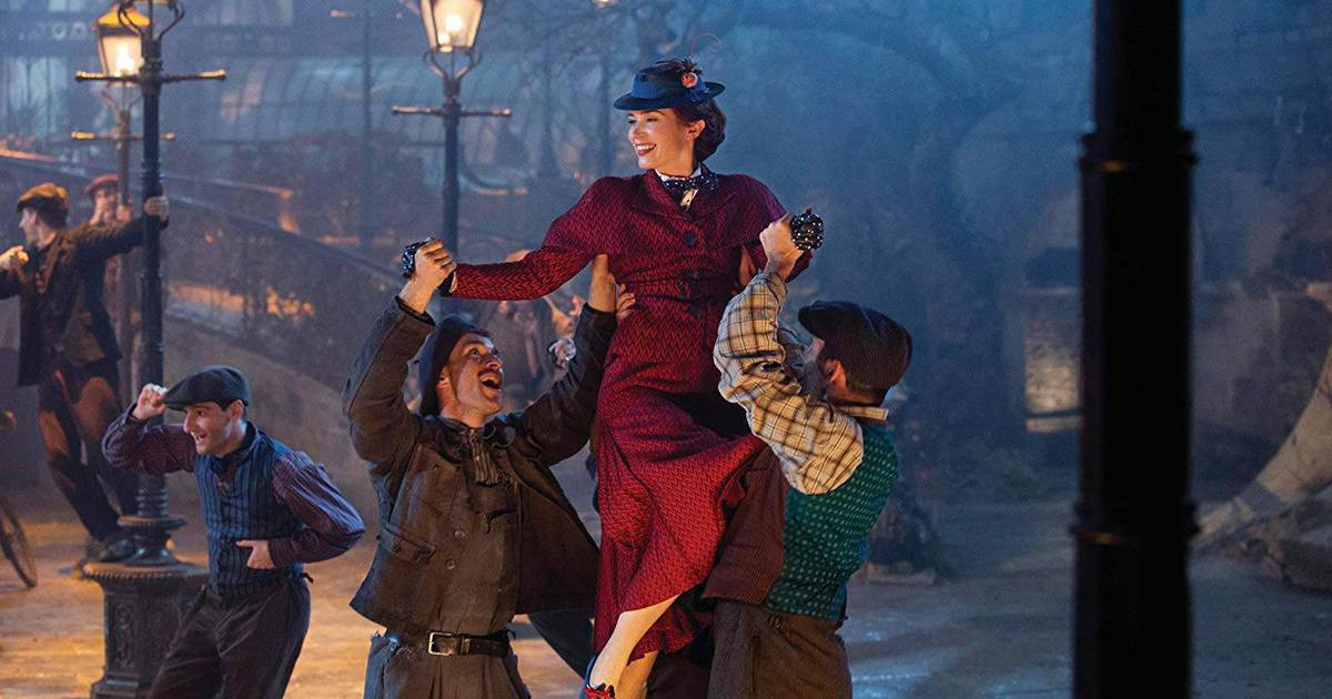 Blu-ray - O Retorno de Mary Poppins