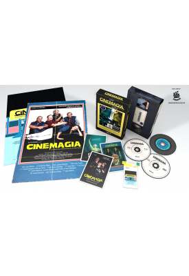 CineMagia - GIFT SET - Blu-ray + DVD + CD - Edição Limitada Numerada e Definitiva (Exclusivo)
