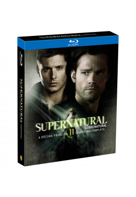 Blu-ray - Supernatural - 11ª Temporada Completa