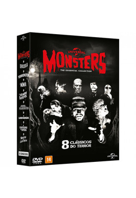 Monsters - The Essential Colection (8 Filmes)