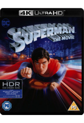 Blu-ray 4K - Superman - O Filme (Com luva)