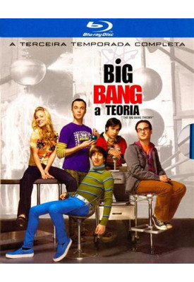 Blu-ray - The Big Bang Theory - 3ª Temporada Completa