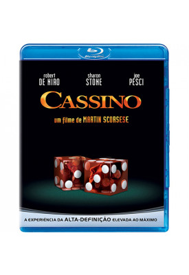 Blu-ray - Cassino (Robert De Niro - Sharon Stone - Joe Pesci)