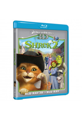 Blu-ray - Shrek 2 (3D + 2D)