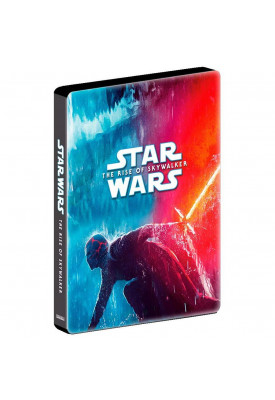 Blu-ray - Star Wars - A Ascensão Skywalker (Steelbook) - DUPLO
