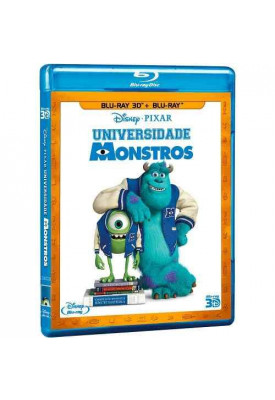 Blu-ray - Universidade Monstros (3D + 2D)