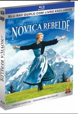 Blu-ray - Noviça Rebelde (BD + DVD com livro exclusivo)