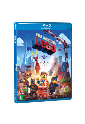 Blu-ray - Lego Movie - Uma Aventura Lego