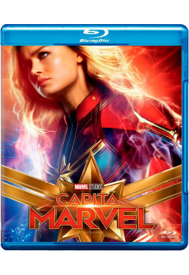 Blu-ray - Capitã Marvel