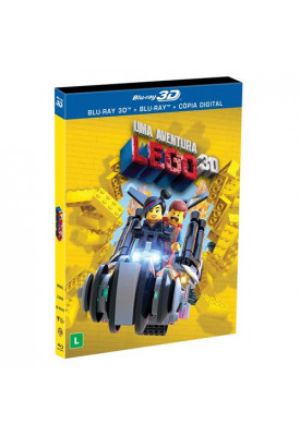 Blu-ray - Lego Movie - Uma Aventura Lego (3D + 2D)