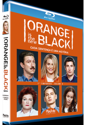 Blu-ray - Orange is the new Black - 1ª Temporada - Volume 3