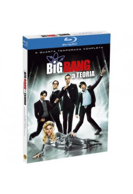 Blu-ray - The Big Bang Theory - 4ª Temporada Completa