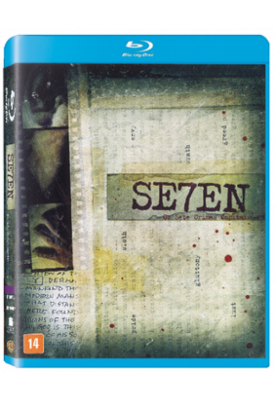 Blu-ray - Seven (Brad Pitt e Morgan Freeman) - David Fincher