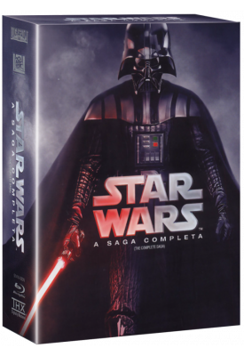 Blu-ray - Star Wars - A Saga Completa