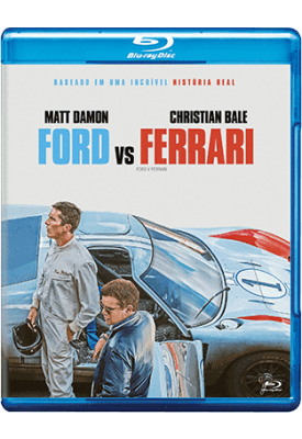 Blu-ray - Ford vs Ferrari