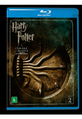 Blu-ray - Harry Potter e a Câmara Secreta (DUPLO)