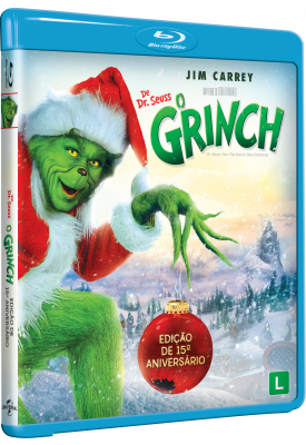 Blu-ray - O Grinch (Exclusivo)