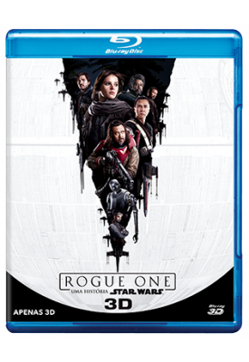 Blu-ray - Star Wars - Rogue One 3D (Somente 3D)