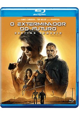 Blu-ray - O Exterminador do Futuro Destino Sombrio