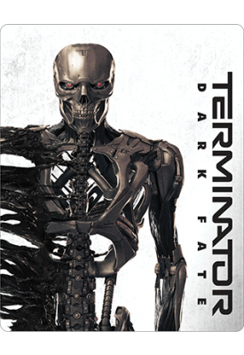 Blu-ray - O Exterminador do Futuro Destino Sombrio (Steelbook)